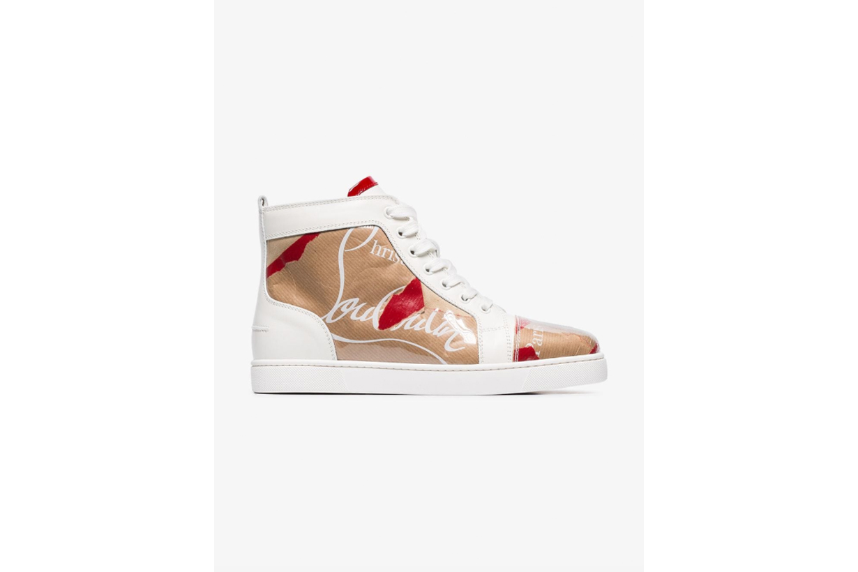 Christian Louboutin Louis Flat Loubi Kraft Sneakers
