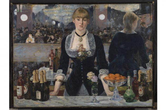 Bar aux Folies Bergre﹣Edouard Manet﹣1882