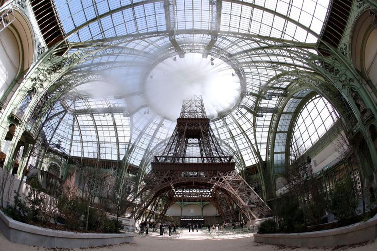 Eiffel Tower Chanel Runway