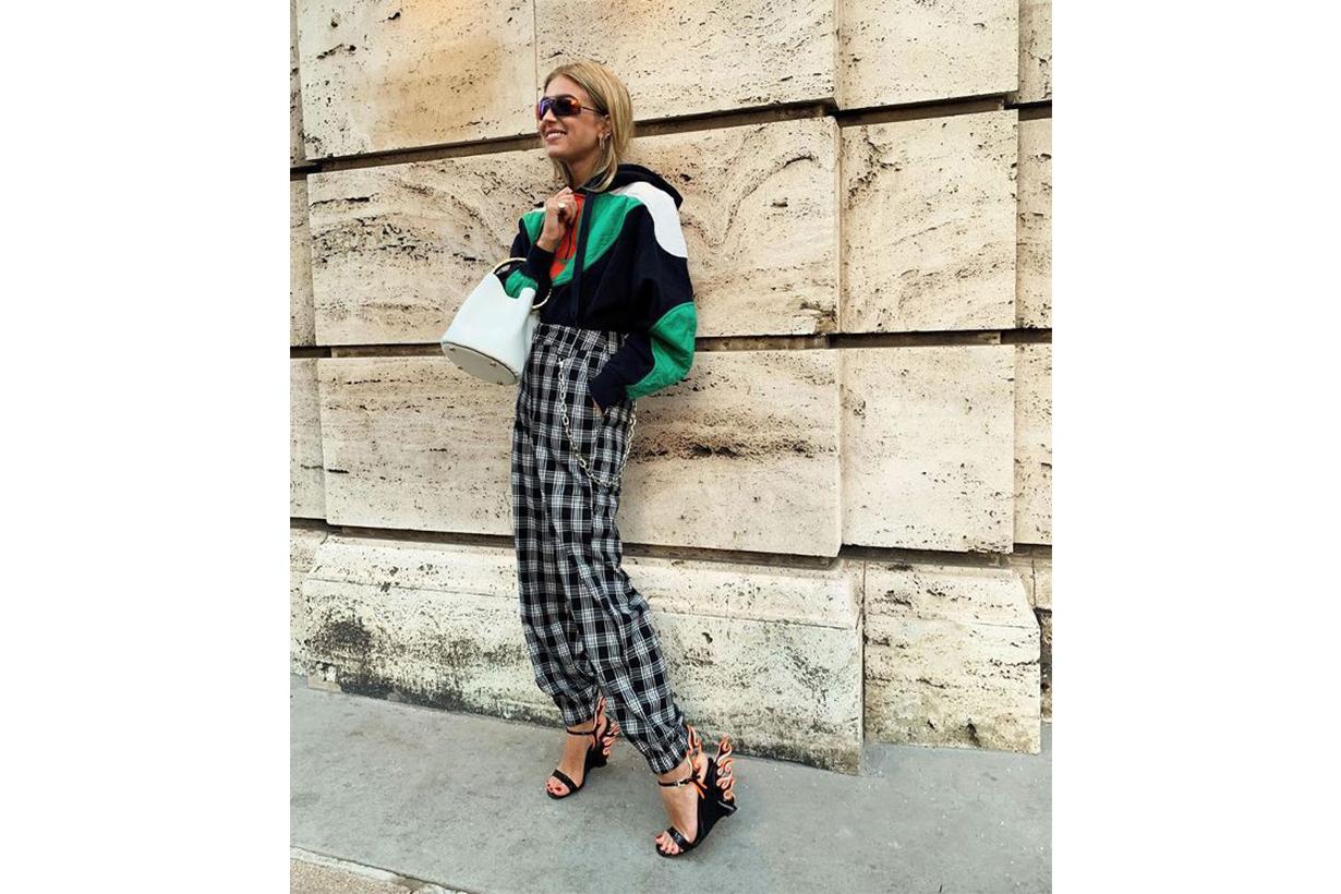 Prada Sandal Heels Street Style