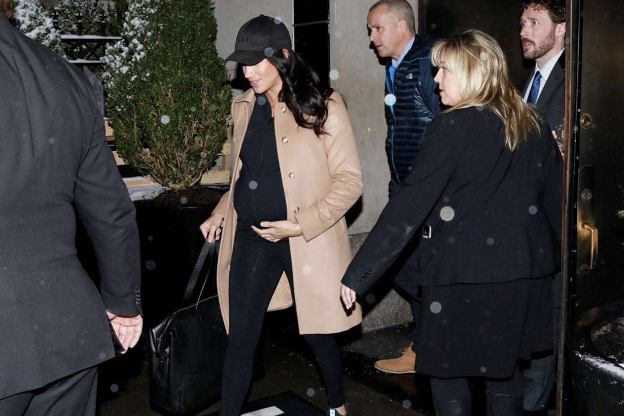 Meghan Markle baby shower prince William