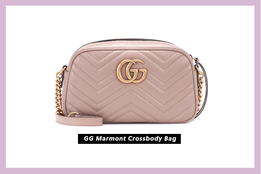 GG Marmont Crossbody Bag pink