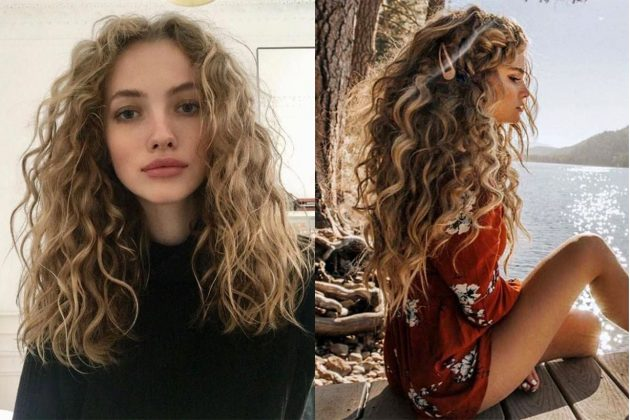 Hippie Curly Hairstyle trend!
