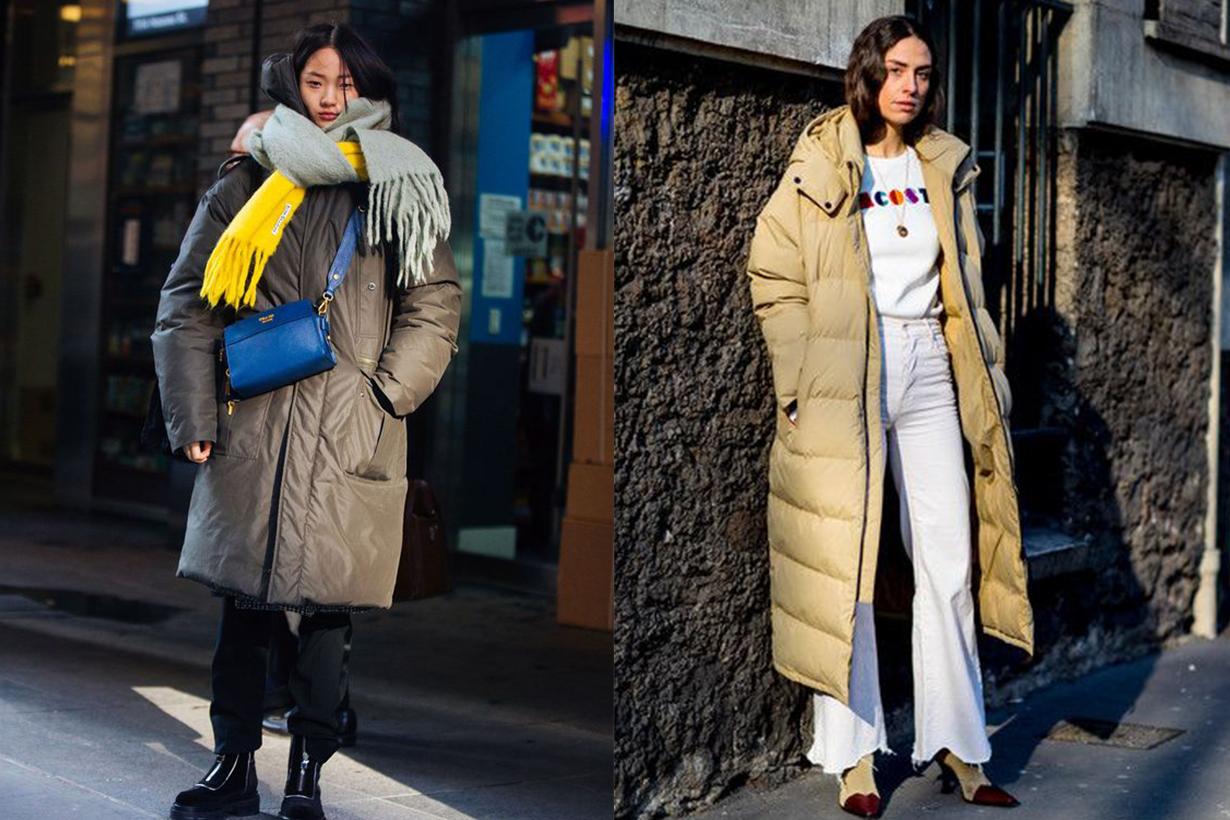 Puffer Coat Street Style