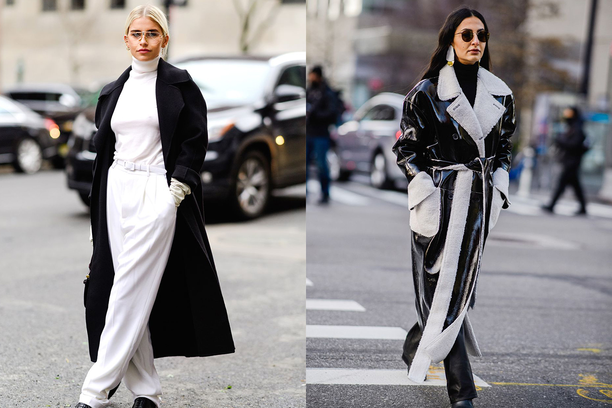 Black White Outfits Street Style