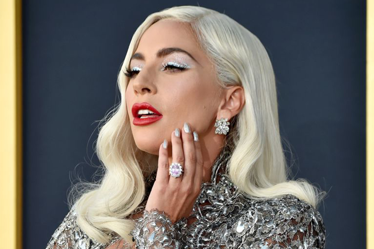 Lady Gaga Pink Engagement Ring