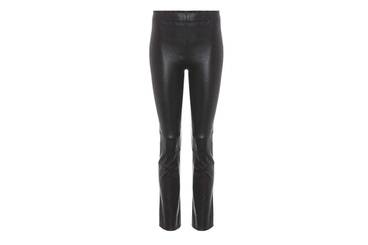 Stouls Maria Rosa Cropped Leather Trousers