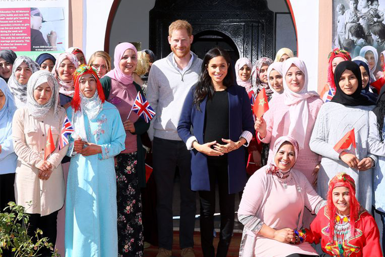 Meghan Markle French Morocco Trip Prince Harry