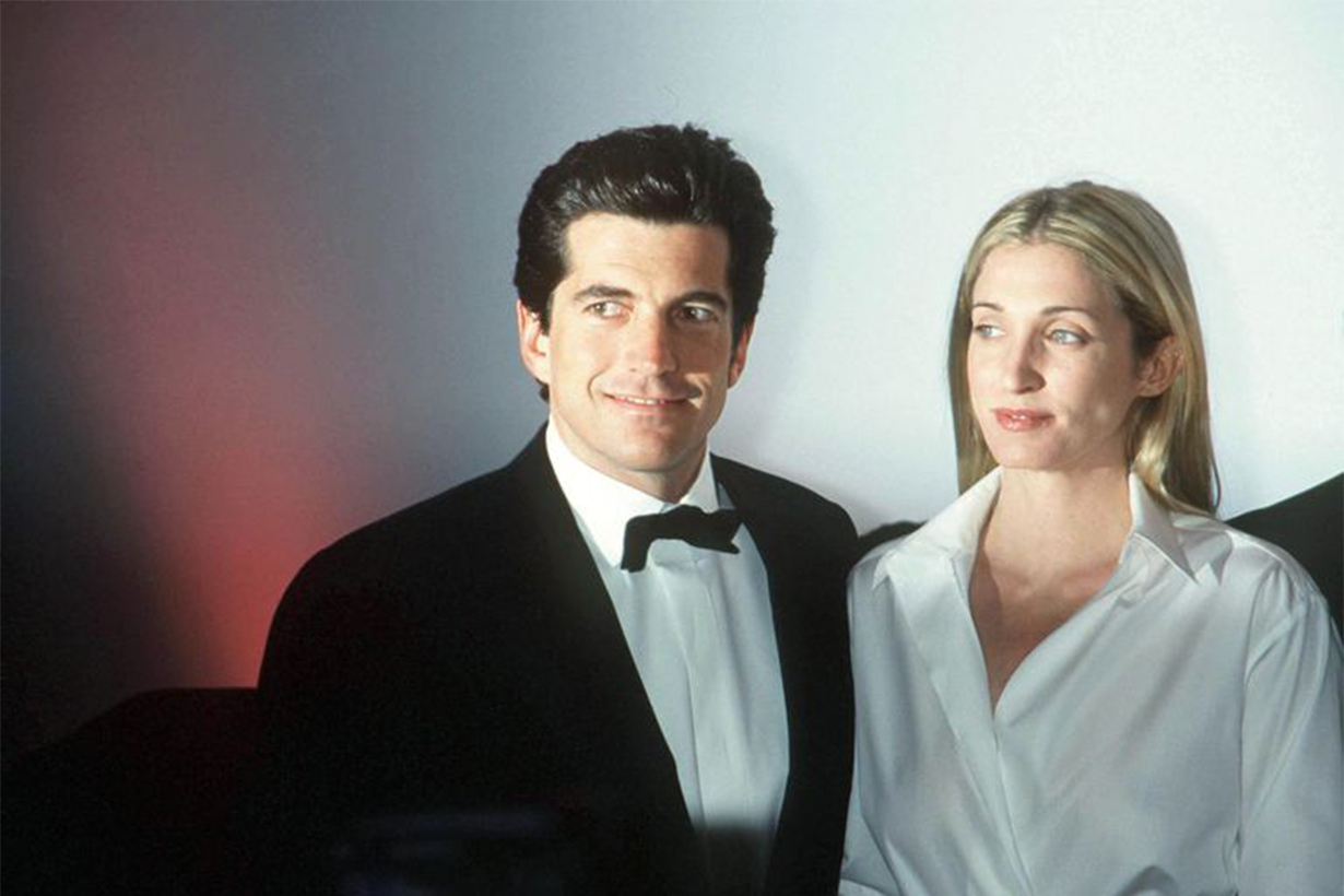 Carolyn Bessette John F. Kennedy Jr. White Shirt