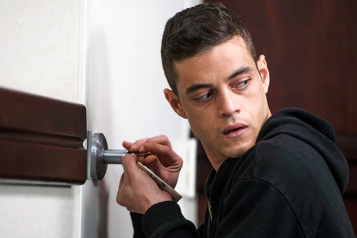 rami malek in mr.robot