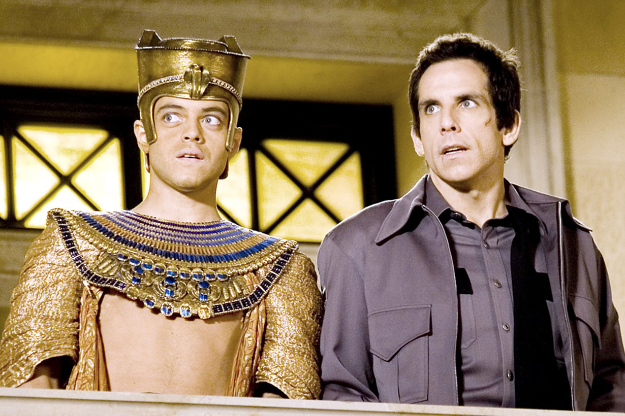 rami malek in night at the museum