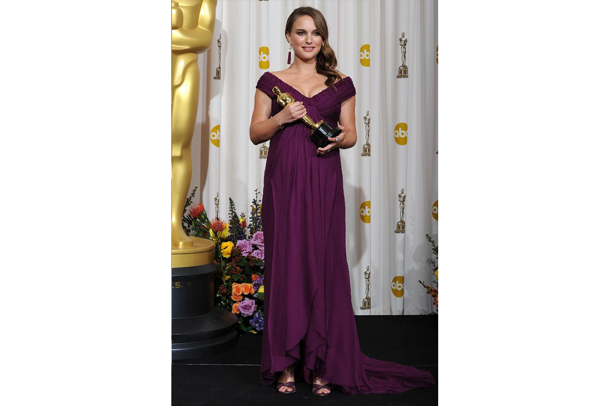 Natalie Portman Rodarte dress