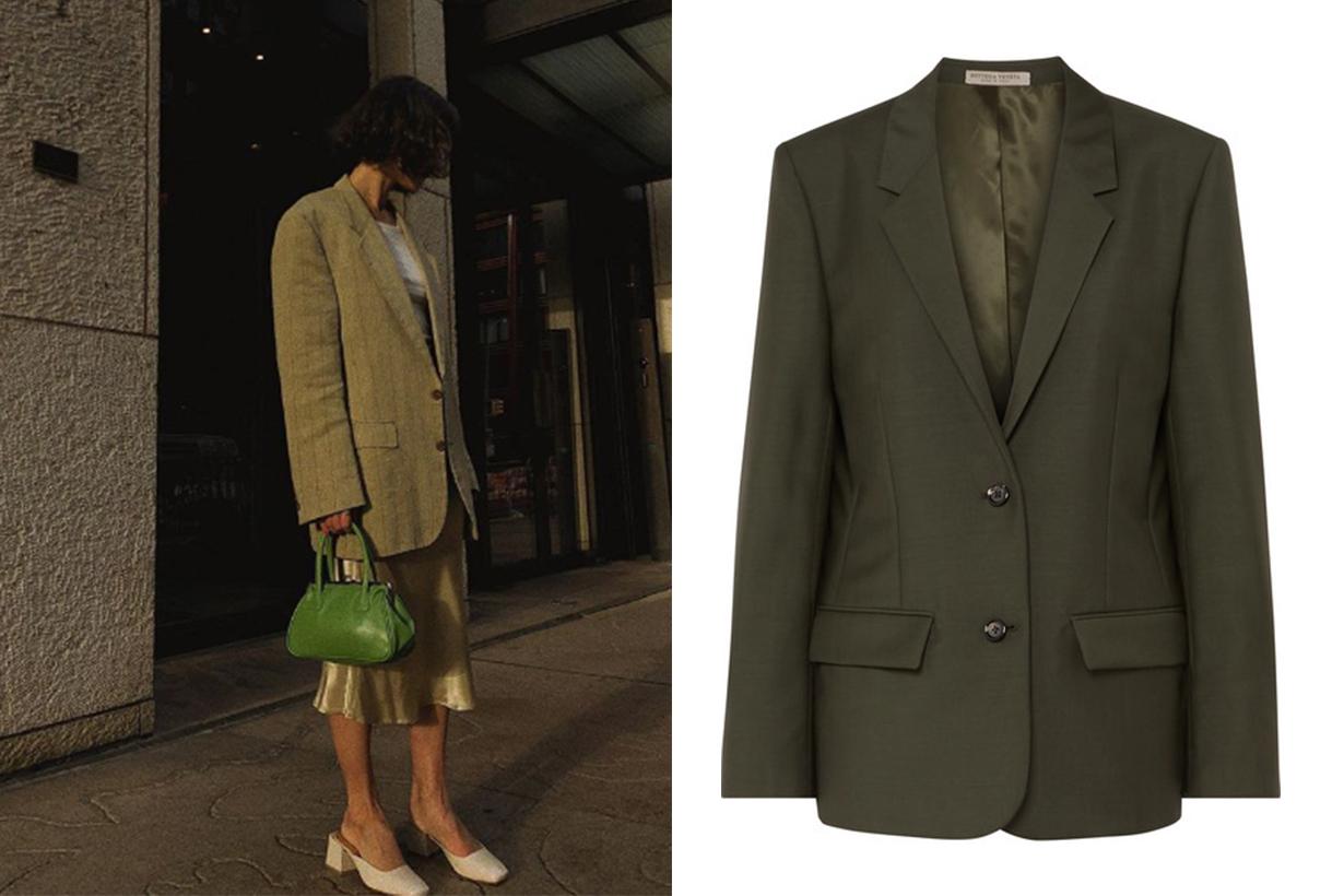 Bottega Veneta Mohair and Wool-Blend Blazer