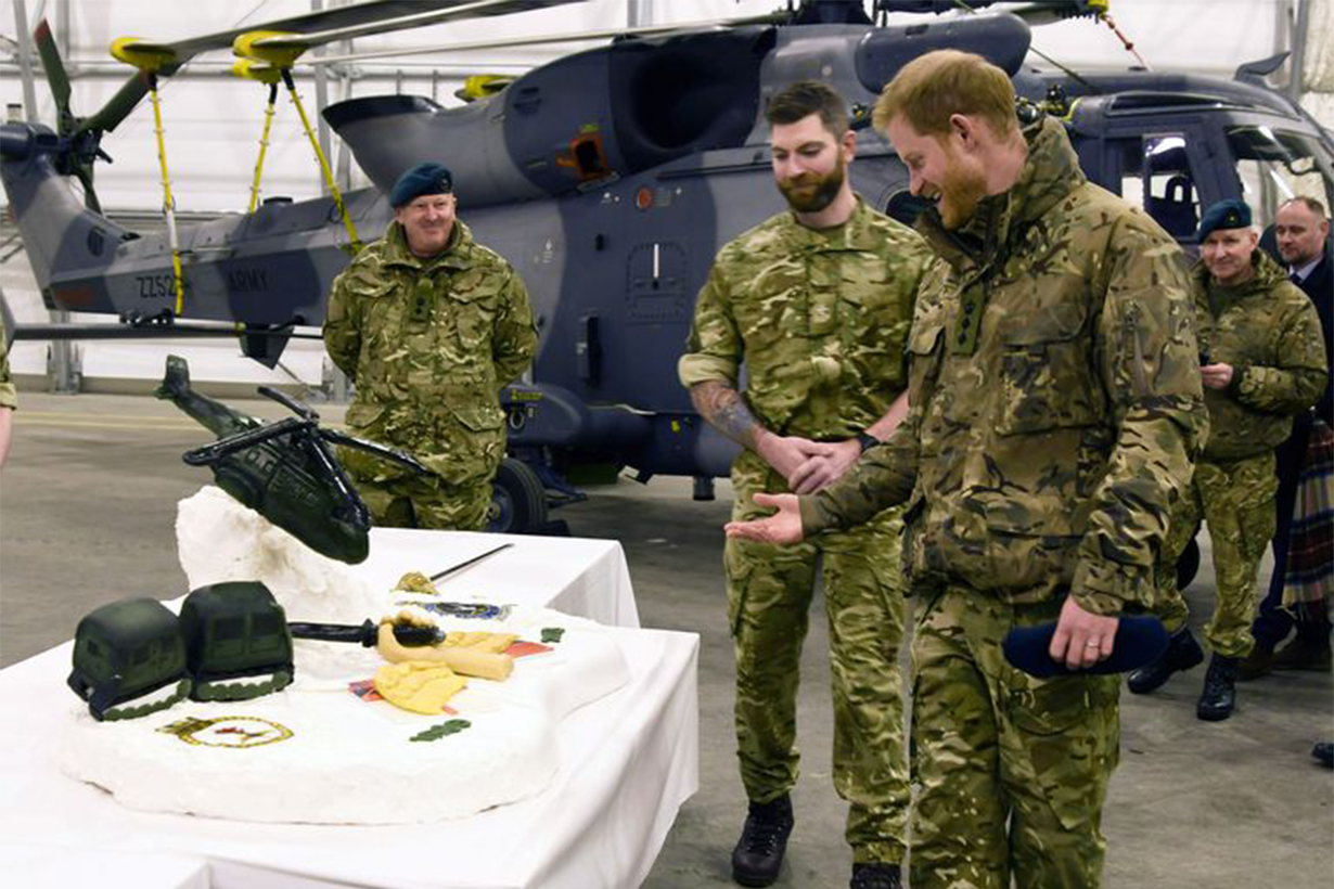 Prince Harry Captain General of the Royal Marines