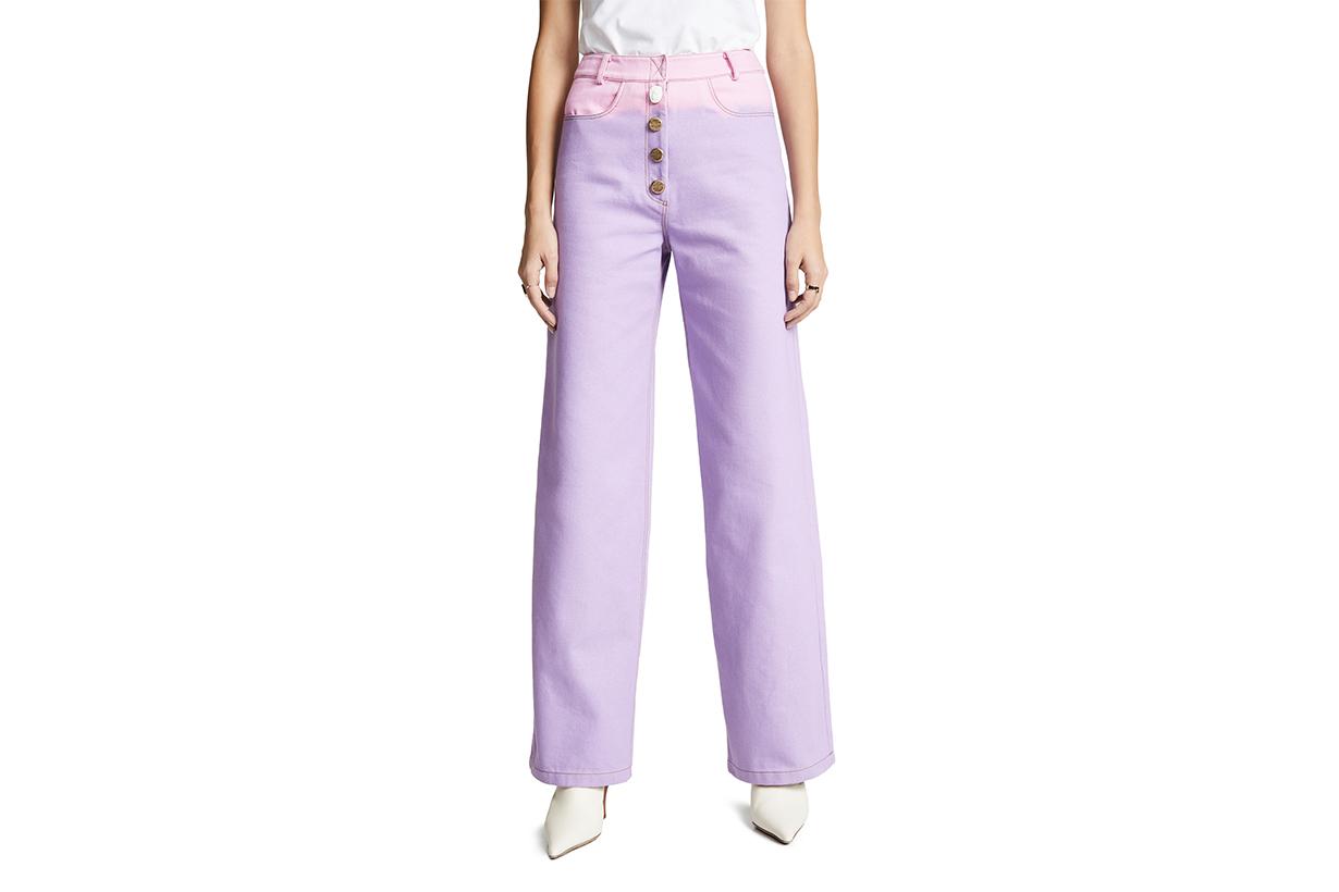 Rejina Pyo Ombré Lavender Jeans
