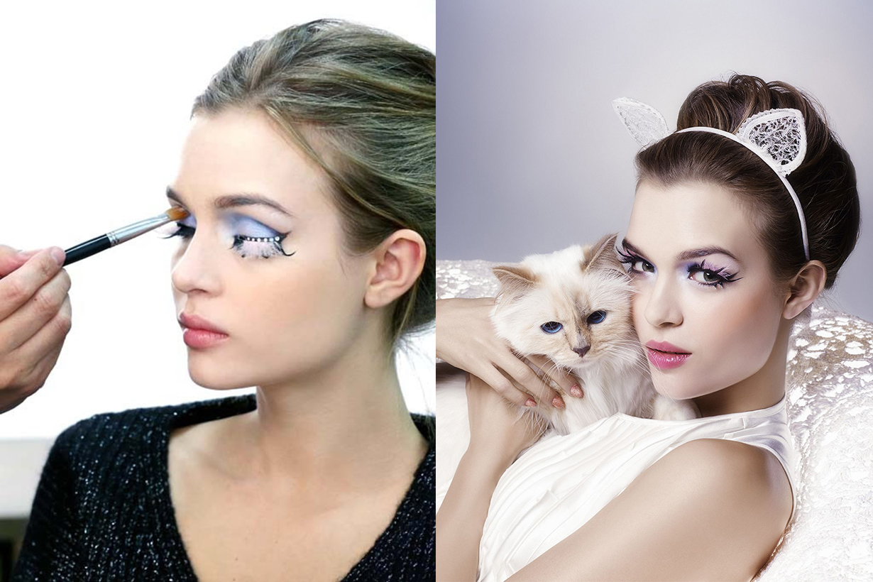 Karl Lagerfeld's Cat Choupette