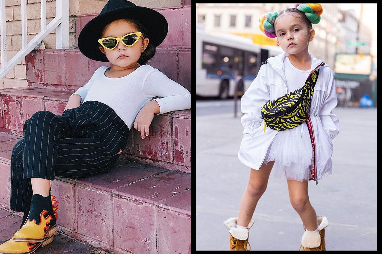 5 歲已是時裝週常客!這位小妹的「時尚氣場」直逼 Gigi Hadid