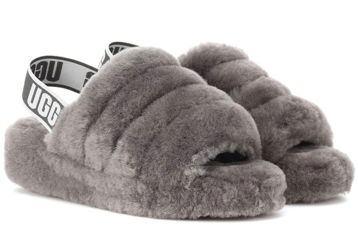 ugg fluffy yeah slides
