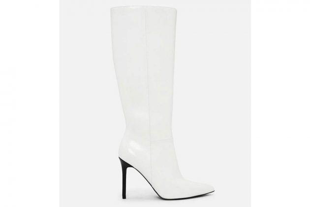 white boot