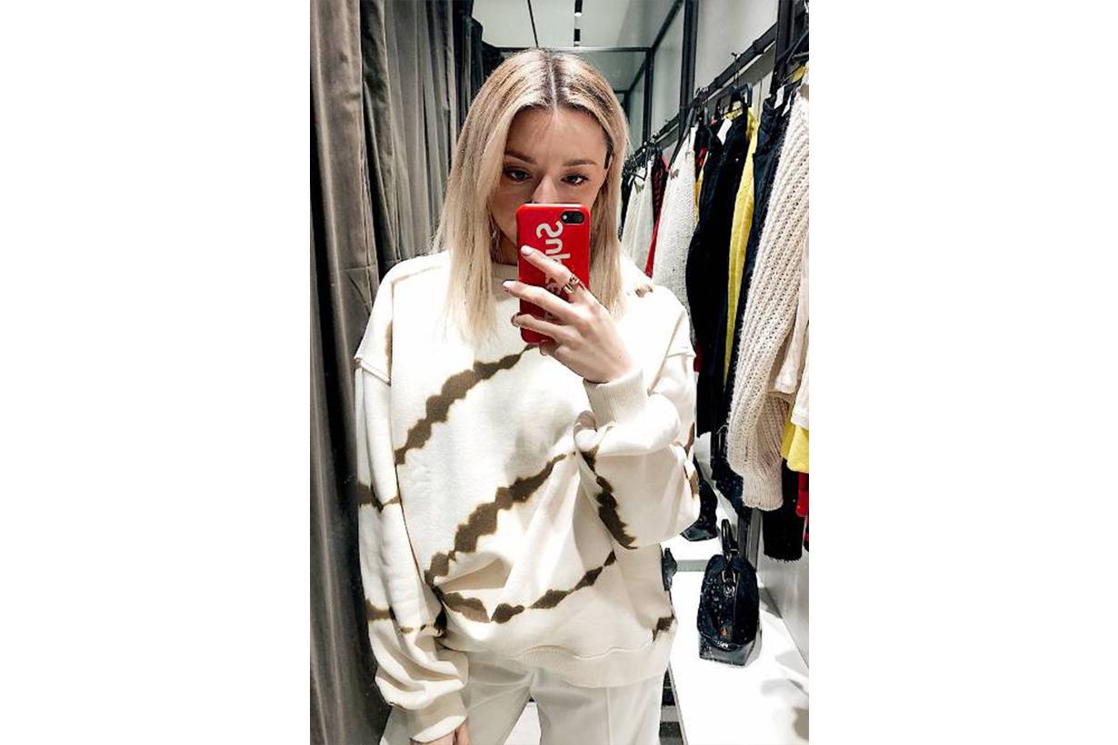 Zara Tie-Dye Sweatshirt