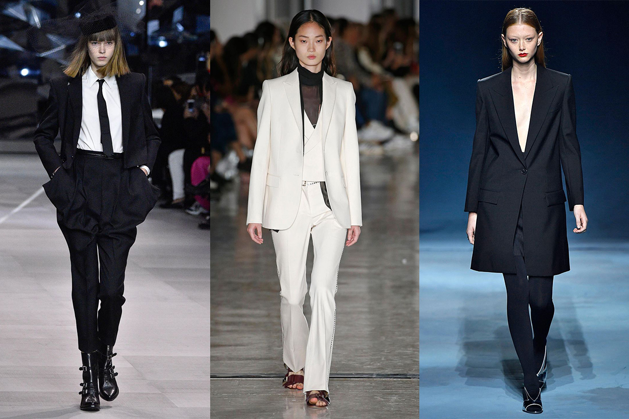 Tuxedos Spring trend runway