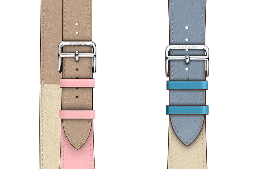 Apple-Watch-Hermes-band 2019 detail logo