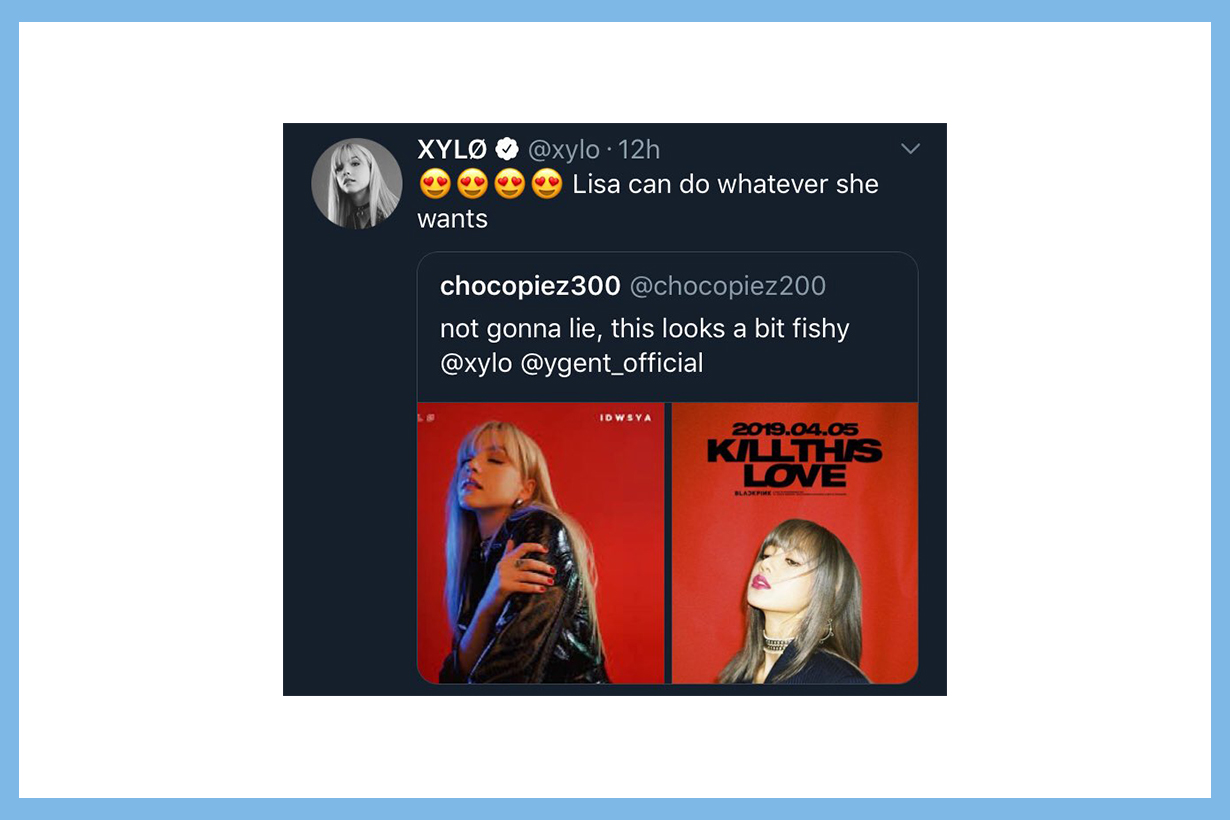 Blackpink Jennie Lisa Jisoo Rose Pharrell Williams Chanel Can't Take My Eyes Off You XYLØ  Paige Duddy  Ariana Grande Coachella