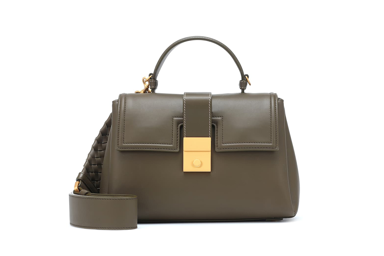 Bottega Veneta Piazza Small Leather Shoulder Bag