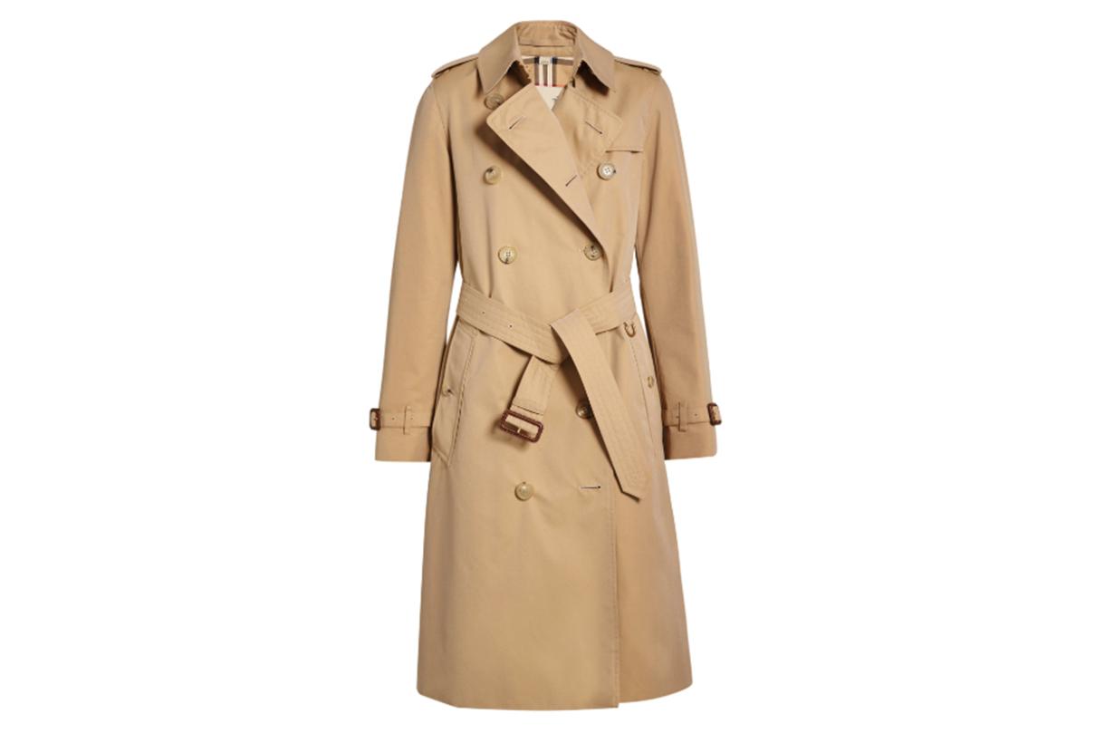 Burberry Kensington Cotton-Gabardine Trench Coat