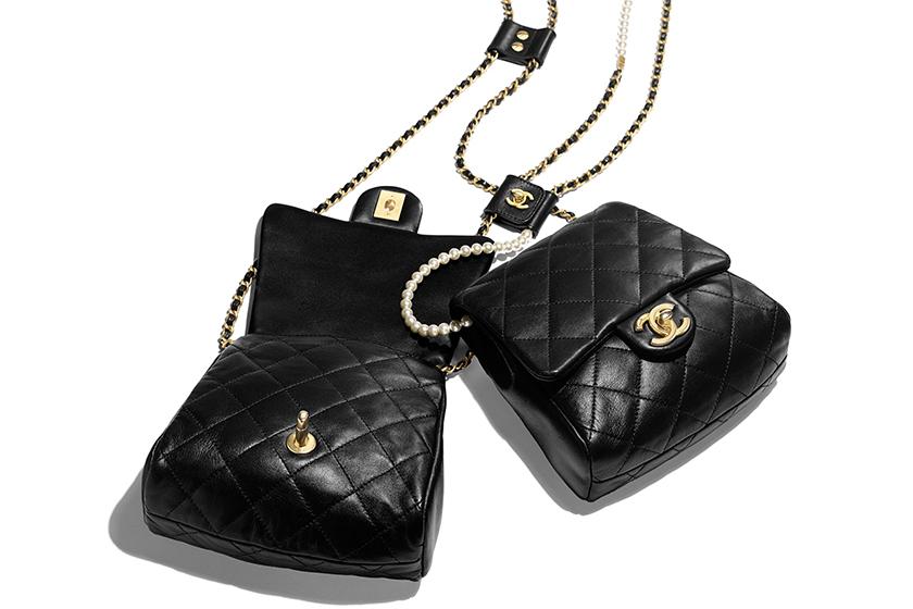 chanel side packs handbag ss19