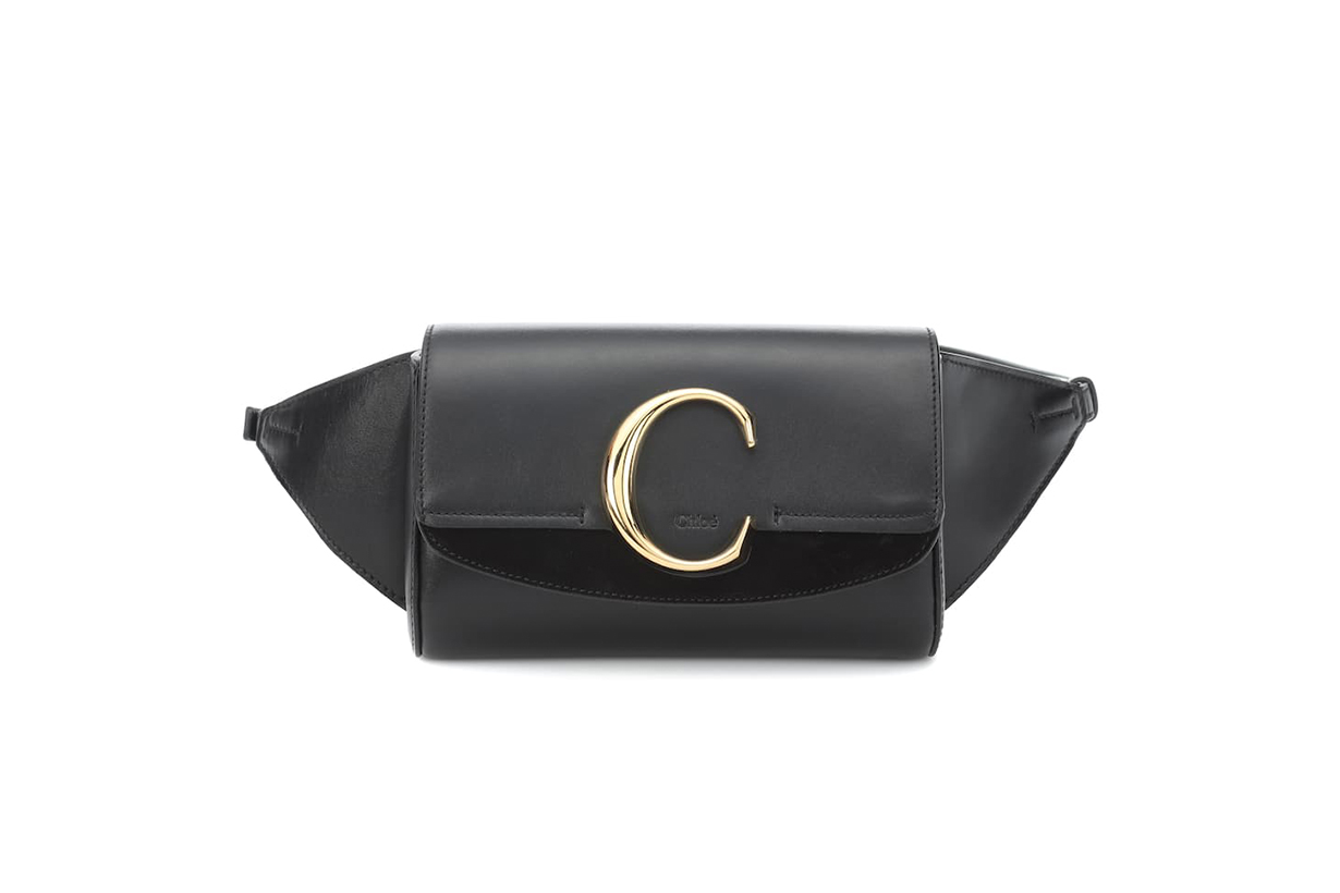 Chloé Chloé C Leather Belt Bag