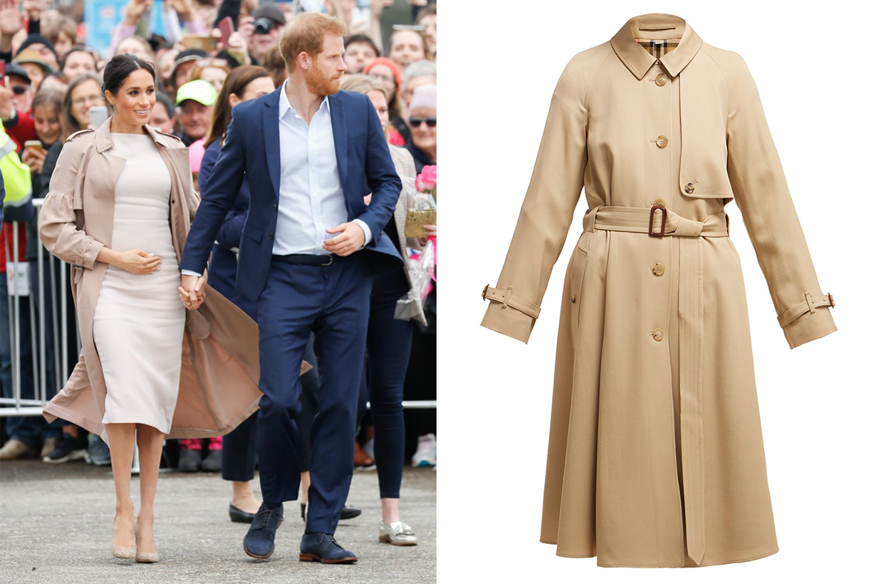 Meghan Markle Burberry Trench Coat