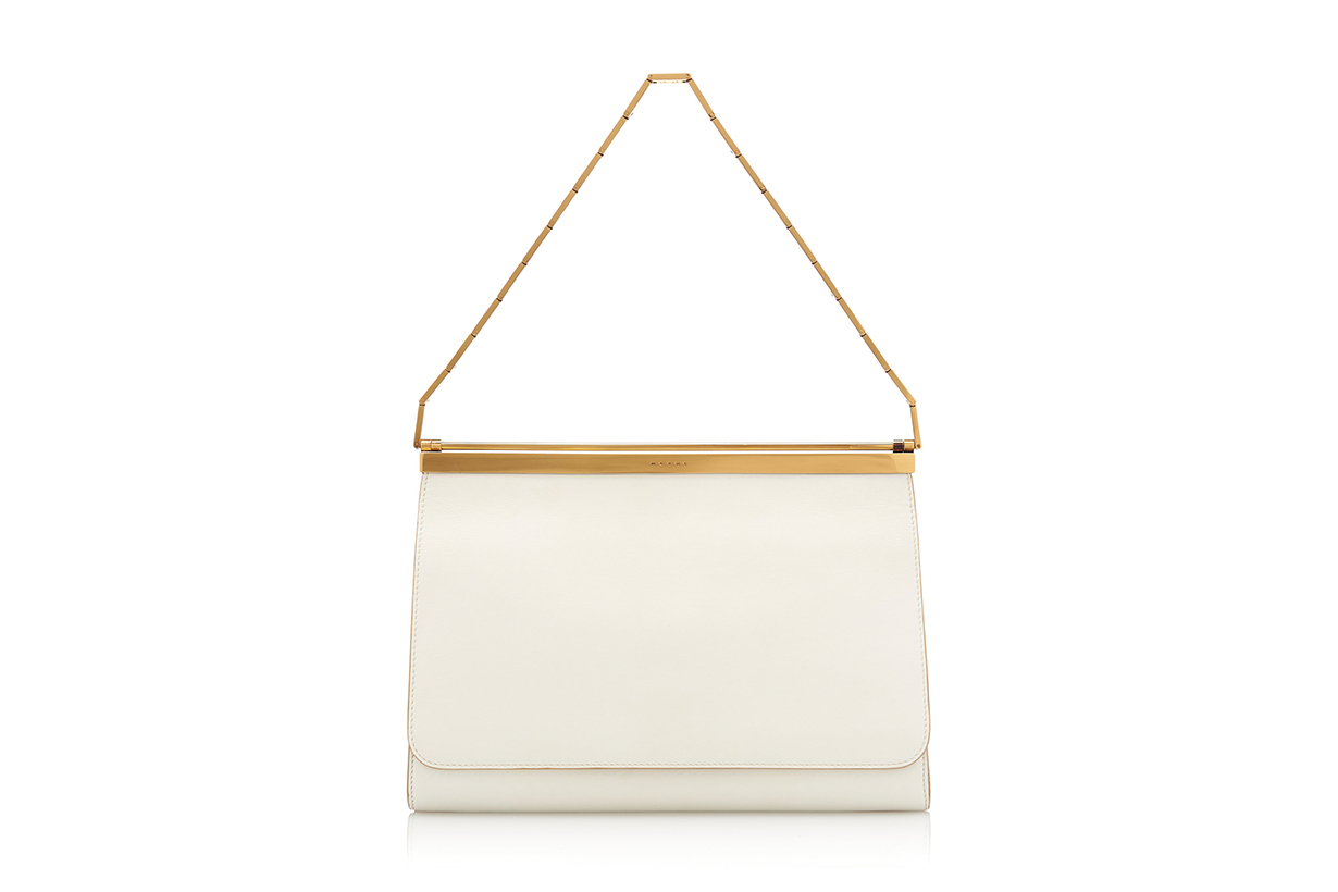 Marni Cachè Two-Tone Leather Bag
