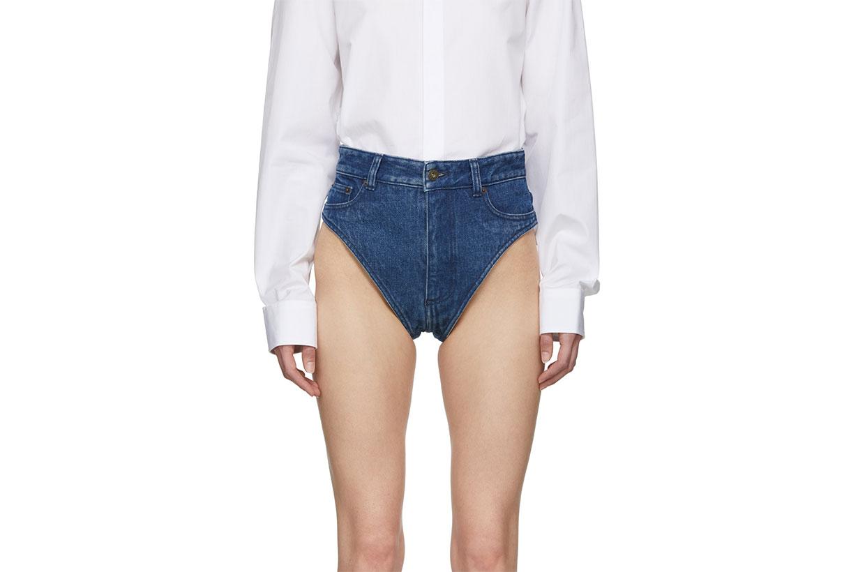 Y/project denim panties