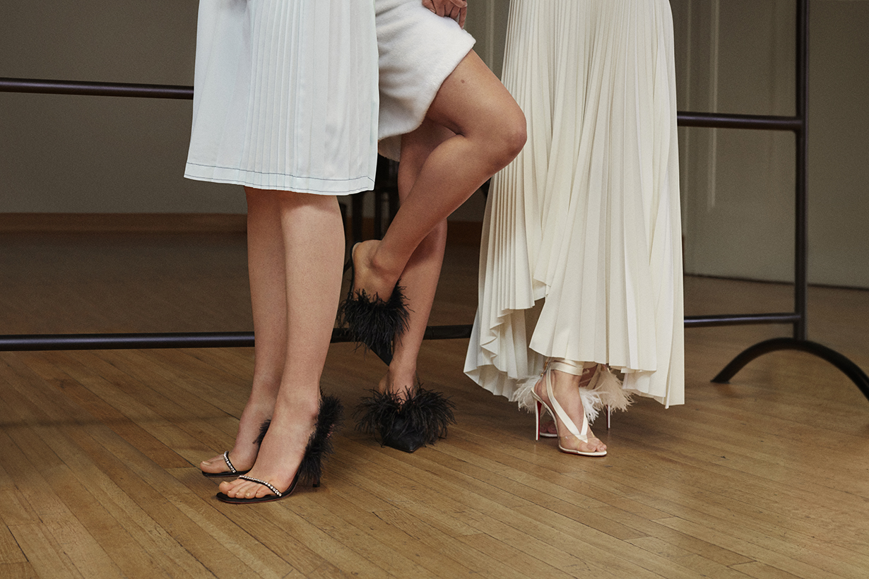 net a porter dress up your feet shoes campaign