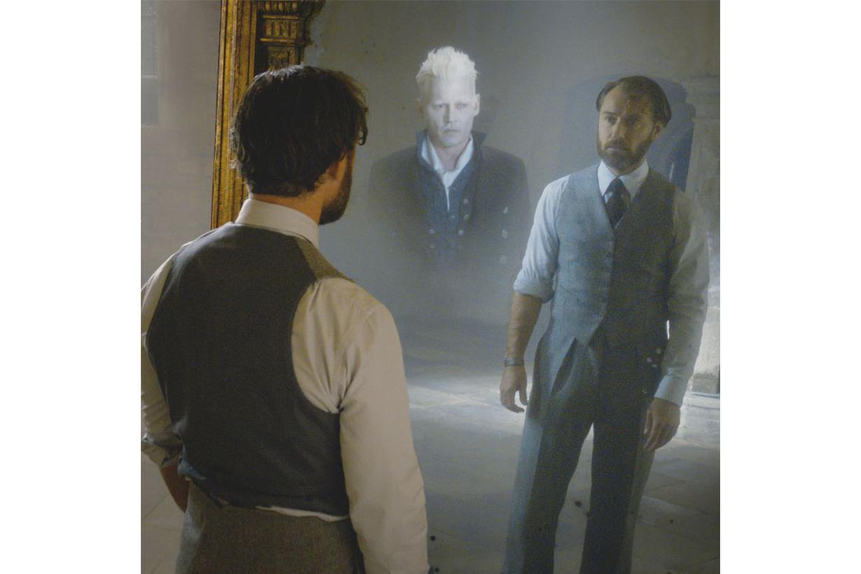 Dumbledore Grindelwald Fantastic Beasts: The Crimes of Grindelwald