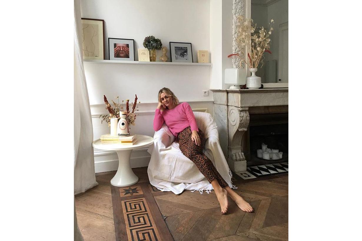 French Blogger Leopard Prints Pants