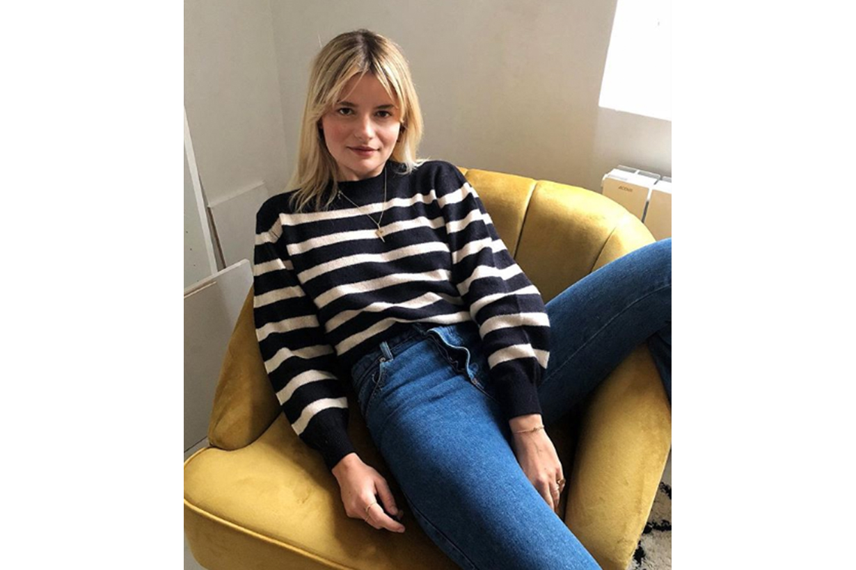 French Blogger Stripe Sweater