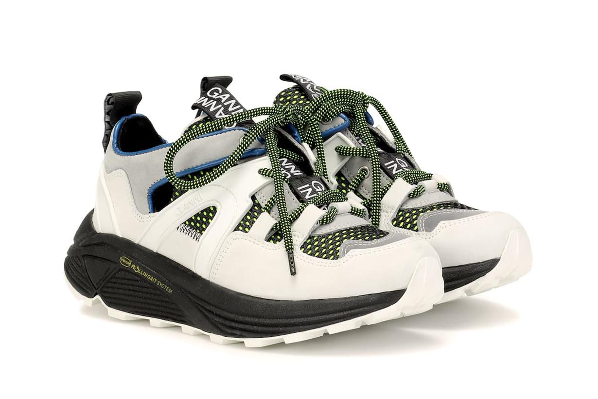 ganni platform sneakers