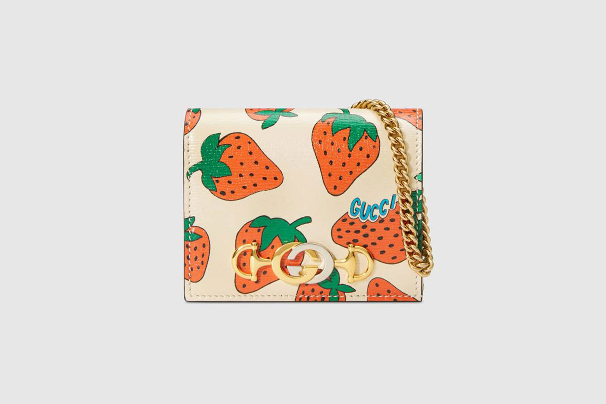 Gucci Zumi leather card case collection
