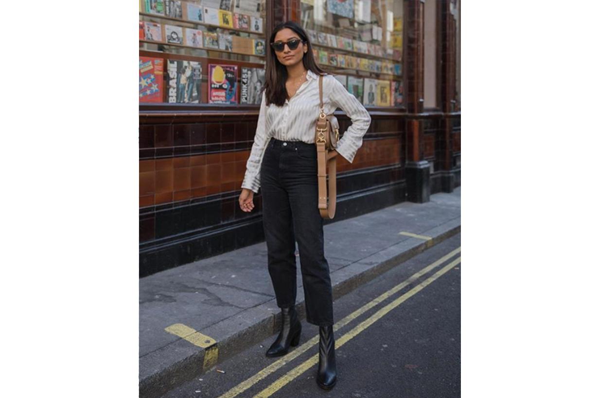 Shirt Skinny Jeans Street Style