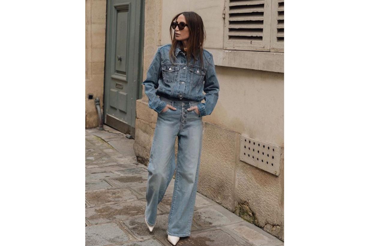 Jeans French It Girls Denim On Denim