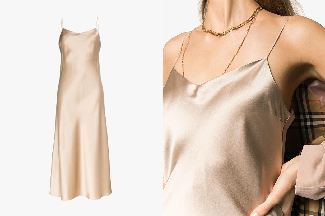 Joseph Silk Camisole Dress