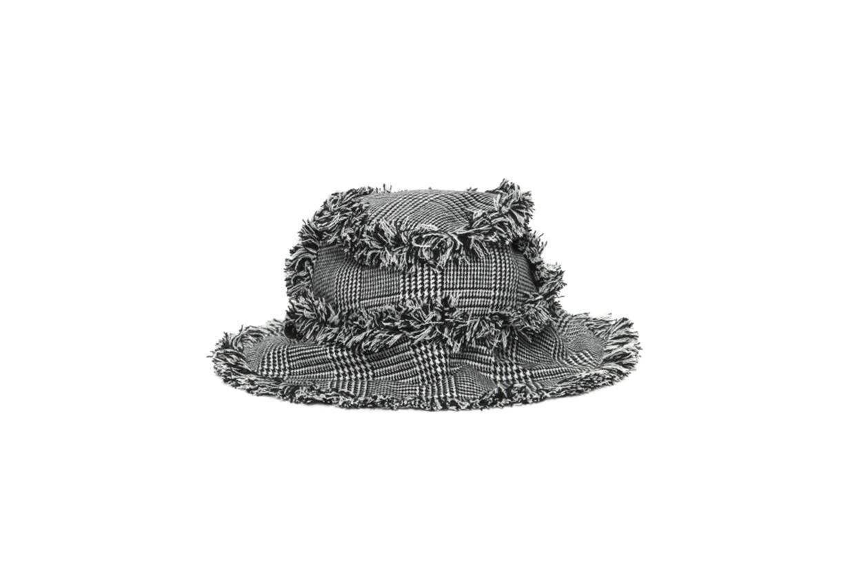 KYE Fringe Edge Houndstooth Hat