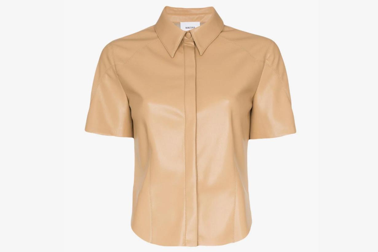 naushka leather shirt