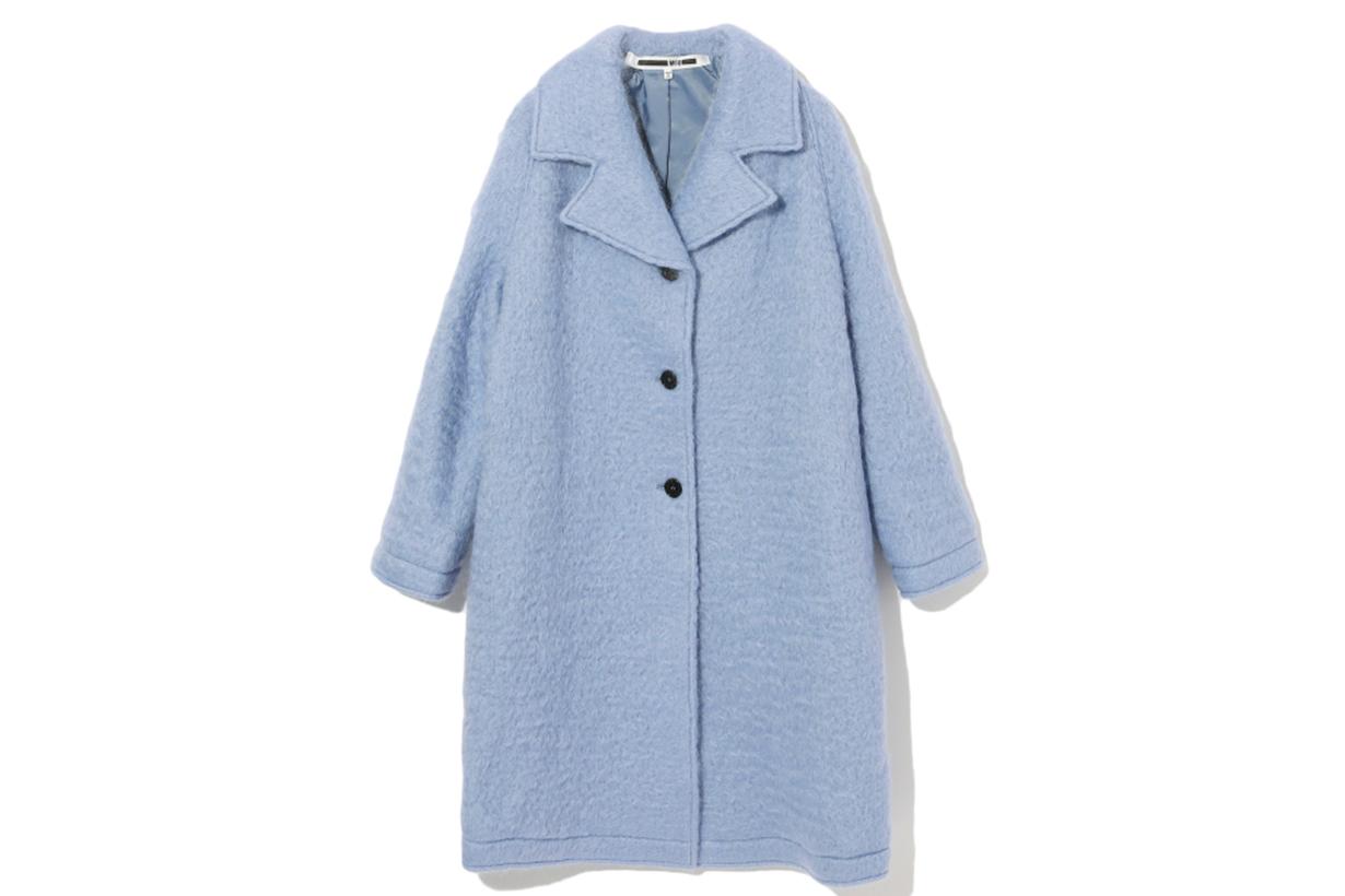 McQ Bouclé Oversized Coat