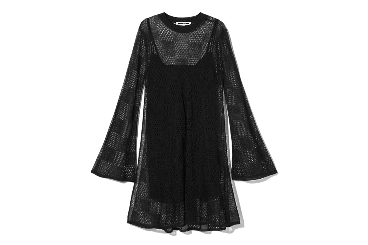 McQ Checker Knit Dress