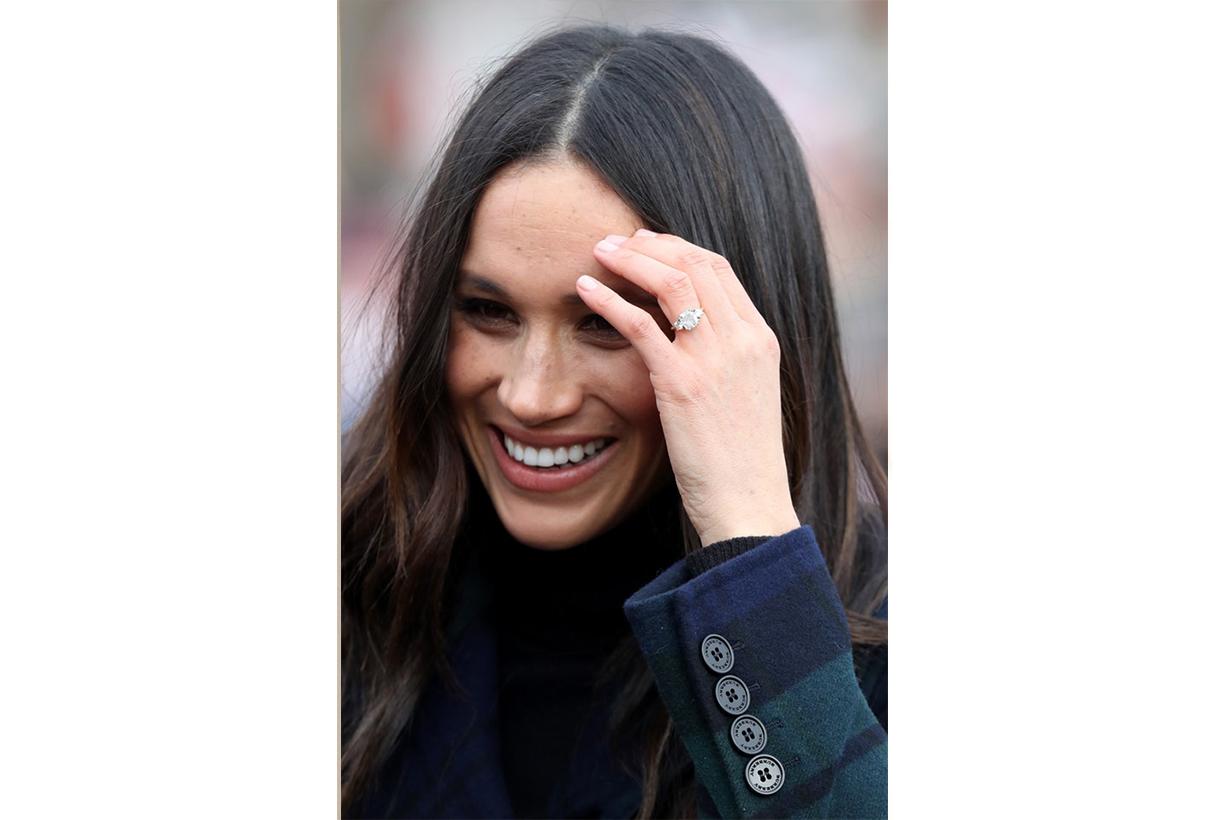 Meghan Markle Engagement Diamond Ring