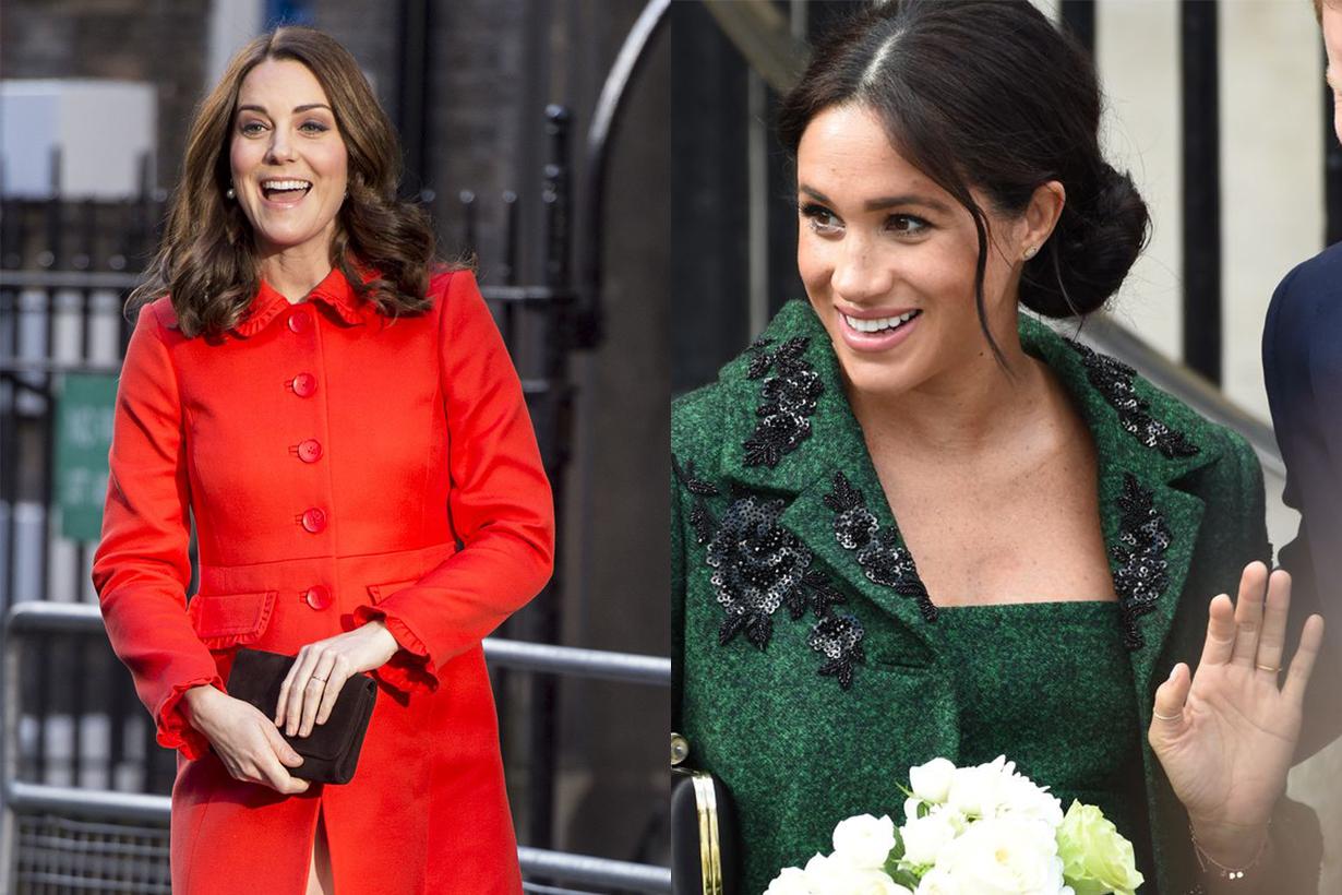 Kate Middleton Meghan Markle Pregnant
