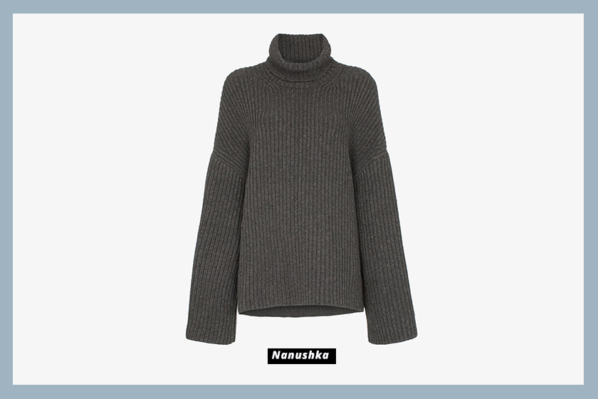 Nanushka-sweater-grey